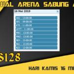 Jadwal Arena Sabung Ayam S128 Live Kamis 16 Mei 2019