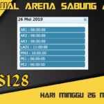 Jadwal Arena Sabung Ayam S128 Live Minggu 26 Mei 2019
