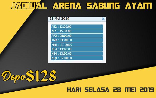 Jadwal Arena Sabung Ayam S128 Live Selasa 28 Mei 2019