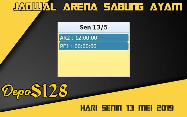 Jadwal Arena Sabung Ayam S128 Online 13 Mei 2019