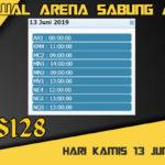 Jadwal Arena Sabung Ayam S128 Live Kamis 13 Juni 2019