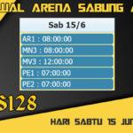 Jadwal Arena Sabung Ayam S128 Live Sabtu 15 Juni 2019