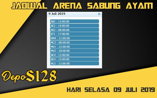 Jadwal Arena Sabung Ayam S128 Online Selasa 09 Juli 2019