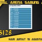 Jadwal Arena Sabung Ayam S128 Live Kamis 15 Agustus 2019