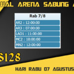Jadwal Arena Sabung Ayam S128 Live Rabu 07 Agustus 2019