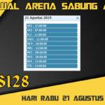 Jadwal Arena Sabung Ayam S128 Live Rabu 21 Agustus 2019