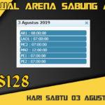 Jadwal Arena Sabung Ayam S128 Live Sabtu 03 Agustus 2019