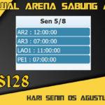 Jadwal Arena Sabung Ayam S128 Live Senin 05 Agustus 2019