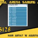 Jadwal Arena Sabung Ayam S128 Online Jumat 16 Agustus 2019