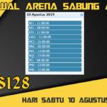 Jadwal Arena Sabung Ayam S128 Online Sabtu 10 Agustus 2019