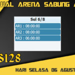 Jadwal Arena Sabung Ayam S128 Online Selasa 06 Agustus 2019