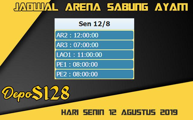 Jadwal Arena Sabung Ayam S128 Online Senin 12 Agustus 2019