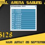 Jadwal Arena Sabung Ayam S128 Live Jumat 20 September 2019