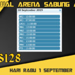 Jadwal Arena Sabung Ayam S128 Live Rabu 18 September 2019