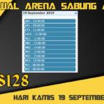 Jadwal Arena Sabung Ayam S128 Online Kamis 19 September 2019