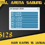 Jadwal Arena Sabung Ayam S128 Live Kamis 16 Januari 2020