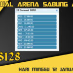 Jadwal Arena Sabung Ayam S128 Live Minggu 12 Januari 2020