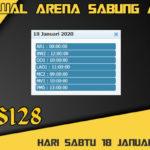 Jadwal Arena Sabung Ayam S128 Live Sabtu 18 Januari 2020