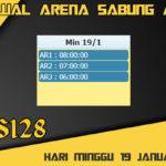 Jadwal Arena Sabung Ayam S128 Online Minggu 19 Januari 2020