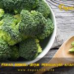 Khasiat Pakan Brokoli Untuk Perawatan Ayam Aduan