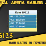 Jadwal Arena S128 Sabung Ayam Live Kamis 19 November 2020