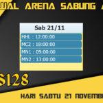 Jadwal Arena S128 Sabung Ayam Live Sabtu 21 November 2020