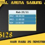 Jadwal Arena S128 Sabung Ayam Live Rabu 25 November 2020