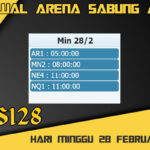 Jadwal Arena S128 Sabung Ayam Live Minggu 28 Februari 2021
