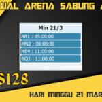 Jadwal Arena S128 Sabung Ayam Online Minggu 21 Maret 2021