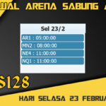 Jadwal Arena S128 Sabung Ayam Online Selasa 23 Februari 2021