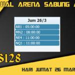 Jadwal Arena S128 Sabung Ayam Live Jumat 26 Maret 2021