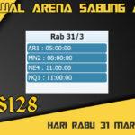 Jadwal Arena S128 Sabung Ayam Online Rabu 31 Maret 2021