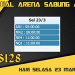 Jadwal Arena S128 Sabung Ayam Online Selasa 23 Maret 2021